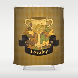 Cup of Loyalty Shower Curtain