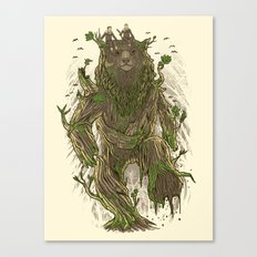 Treebear Canvas Print