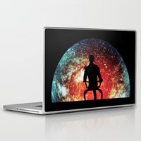 garrus Laptop & iPad Skins featuring Illusive man ( Mass Effect ) by TxzDesign