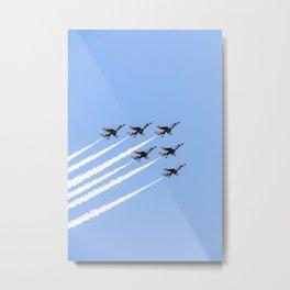 Thunderbirds Flying over Philadelphia 2020 Metal Print
