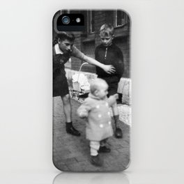 Aufpassen iPhone Case