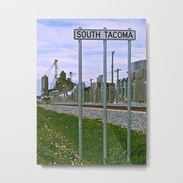 Historic South Tacoma Metal Print