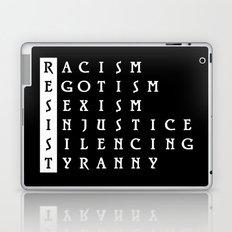 Resist : a political protest Laptop & iPad Skin