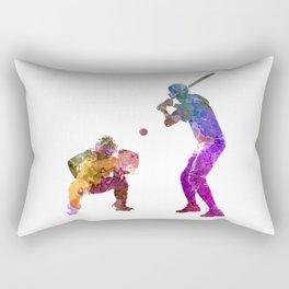 baseball players 01 Rectangular Pillow