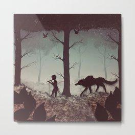 Wolf Parade Metal Print