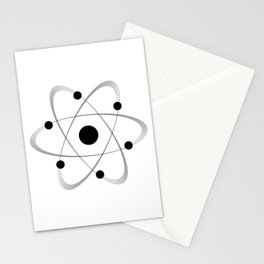 Atomic Mass Structure 6 Stationery Cards
