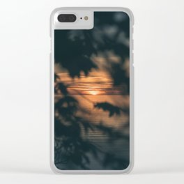 Element: Water (002) Clear iPhone Case