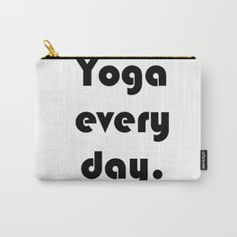 Yoga Every Day. Carry-All Pouch