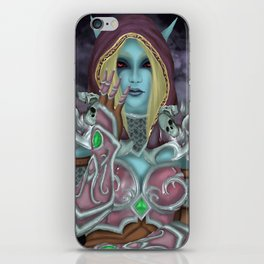 Sylvanas Windrunner iPhone Skin