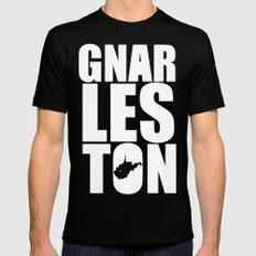 Gnarleston Mens Fitted Tee Black MEDIUM