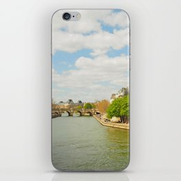 The River Seine iPhone Skin