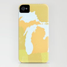 The GREAT LAKES of NORTH AMERICA Slim Case iPhone (4, 4s)