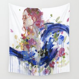 Bouquet of Emotions Wall Tapestry
