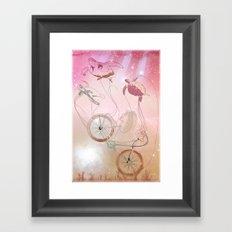 Nebular Framed Art Print