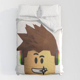 roblox face kids Comforters