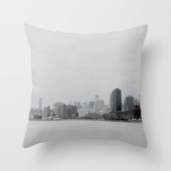 NEW YORK 3 Throw Pillow