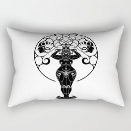 Indian Priestess Rectangular Pillow