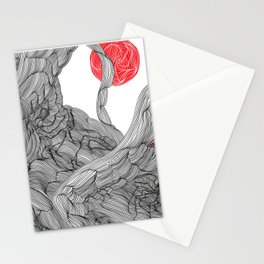 Mars View Stationery Cards