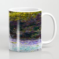car Mugs featuring Car by Lior Blum