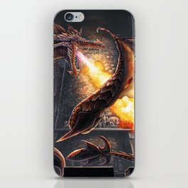 Castle Under Fire (Commission) iPhone Skin
