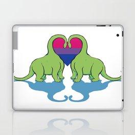 Bi Pride - Dino Love Laptop & iPad Skin
