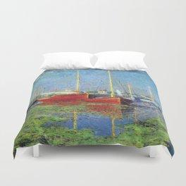 Claude Monet - Argenteuil Duvet Cover
