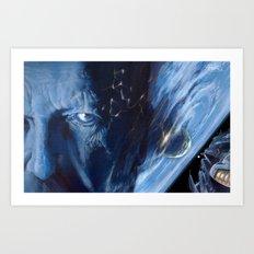 A Teardrop Falls: Berserker Mission Accomplished Art Print