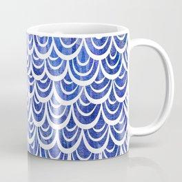 Watercolor Mermaid Blue Sapphire Coffee Mug