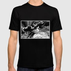 asc 615 - La volupté des formes (The voluptuousness of painting) SMALL Mens Fitted Tee Black