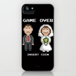 Marriage - Game Over iPhone Case