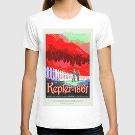 Kepler-186f - NASA Space Travel Poster (Alt) T-shirt