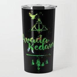 Harry Avada Kedavra spell Travel Mug