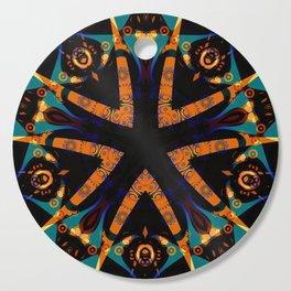 Tribal Geometric Cutting Board