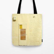 #WARNING - NO TRESPASSING - HOLLYWOOD FLORIDA Tote Bag