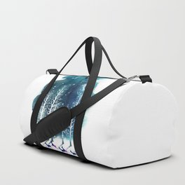 Winter Night 2 Duffle Bag