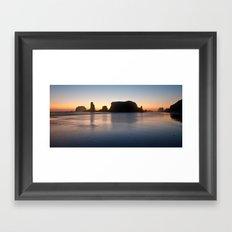 Bandon Sunset Framed Art Print
