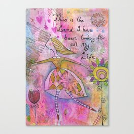 The land of my dreams Canvas Print
