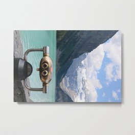 Lake Louise View Metal Print