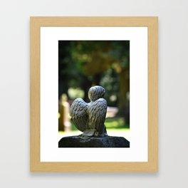 Help an Angel Framed Art Print