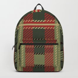 Holiday Plaid Backpack