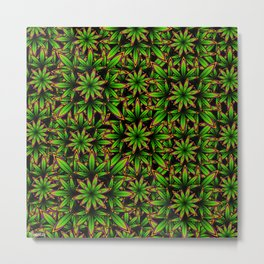 Grow Some Weed Metal Print