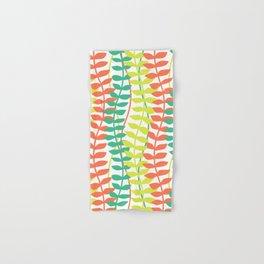 seagrass pattern - tropical Hand & Bath Towel