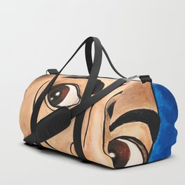 Salvador Dalí portrait Duffle Bag