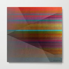 """Architecture, Colorful Rainbow"" by Mar Cantón Metal Print"