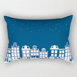Delf Silent Night Rectangular Pillow