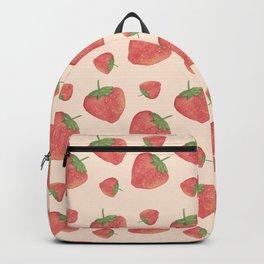 Strawberry field forever Backpack
