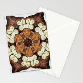 Moth and Flower Mandala Stationery Cards