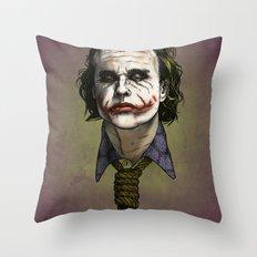 Now I'm Always Smiling Throw Pillow