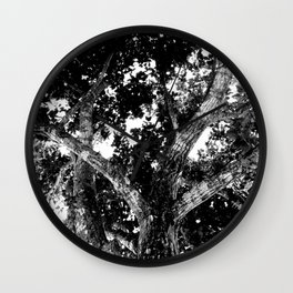 Mad tree Wall Clock