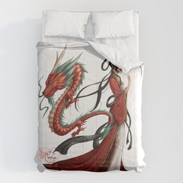 Chinese dragon pure Comforters